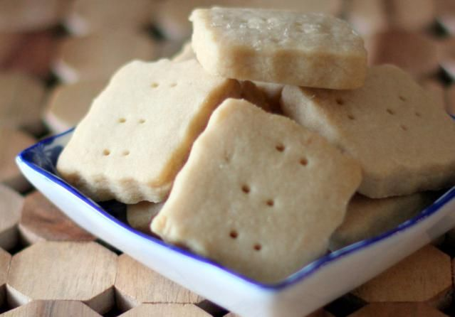 Simple classic shortbread cookies with butter and sugar and flour. A Scottish-style shortbread recipe.