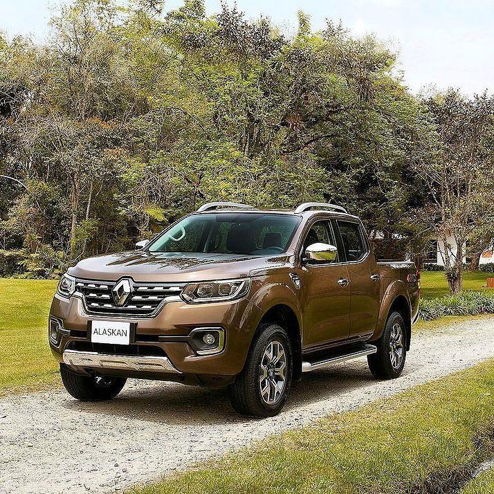 Renault Alaskan 2017 Inédita picape de uma tonelada da marca francesa  a Alaskan…