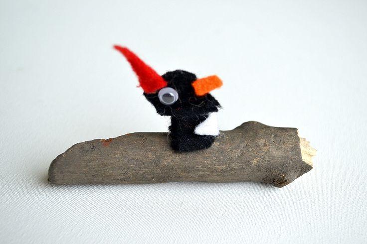 woodpecker - kids artwork