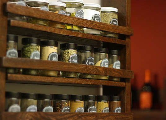 Turn An Old Pallet Into A New Spice Rack   Treat The Wood And Finish First