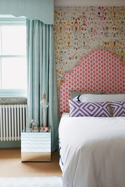 Looking to dress your windows? We've found all the best fabrics and styles for curtains, from simple plain white to unapologetically floral - on HOUSE - design, food and travel by House & Garden.