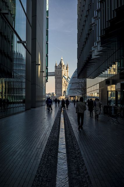 Next to my fav hotel Hilton Tower Bridge.  London. Tower Bridge view // Flickr: by  naughton321