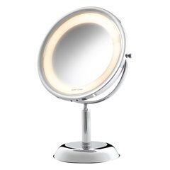 Espelho de Aumento de Mesa com Iluminação 110v Ref. 10288