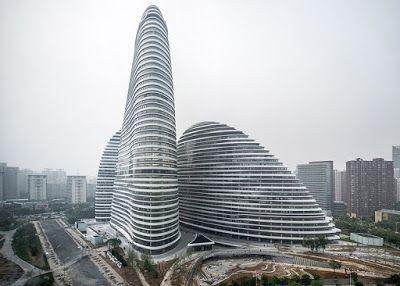 Wangjing Soho Peraih Penghargaan Gedung Pencakar Langit Terbaik
