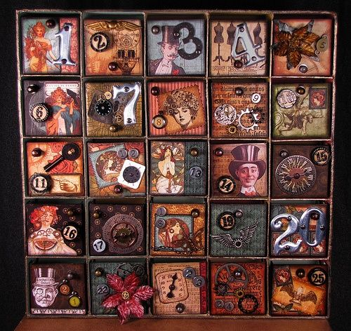 Steampunk Advent Calendar