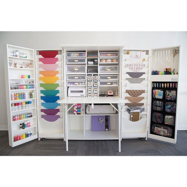 25 Best Ideas About Craft Cabinet On Pinterest Craft Armoire Scrapbook Storage And Craft Storage
