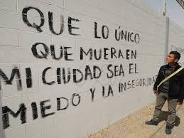 accion poetica – May the only things to die in my city be fear and insecurity