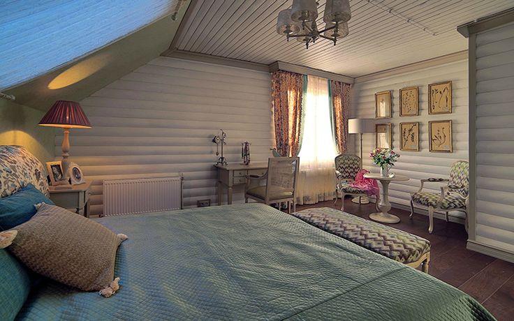 интерьер спальни № 19617, автор - Доминанта на сайте InteriorExplorer.ru