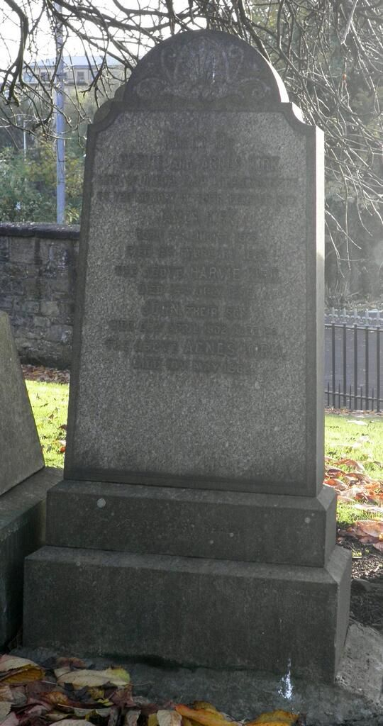 photo of grave for Harvie Kirk
