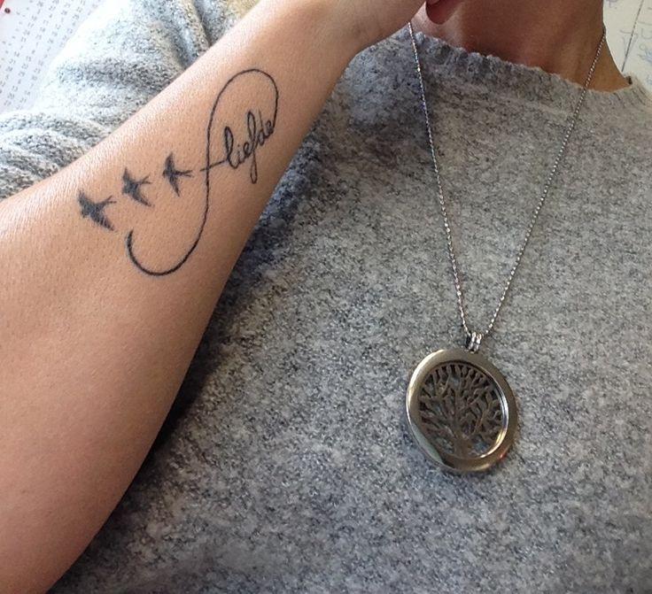 Mijn Eigen Tattoo: 3 Vogels Symbool Voor Mijn 2 Kinderen
