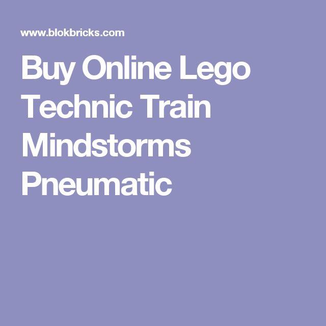 Buy Online Lego Technic Train Mindstorms Pneumatic