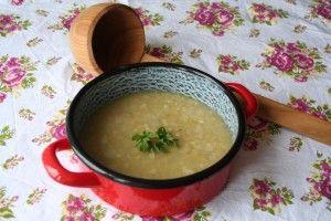 Čočková polévka s pohankou a amaranthem