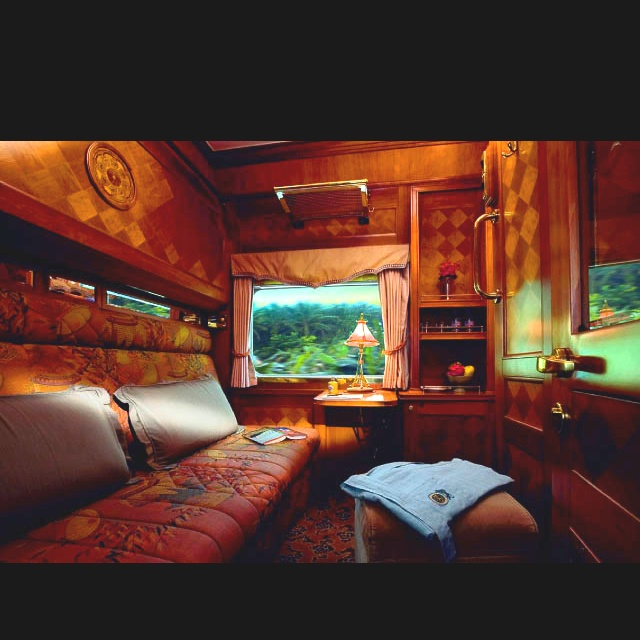 The only civilized way to travel: Orient Express Pullman cabin. I will  never forget my trip aboard this train from Venice to London via Paris.