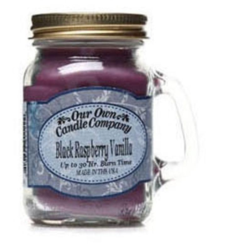 The Gecko Shack - Black Raspberry Vanilla Mini Mason Jar 250gms Our Own Candle Company, $10.00 (http://www.geckoshack.com.au/black-raspberry-vanilla-mini-mason-jar-250gms-our-own-candle-company/)