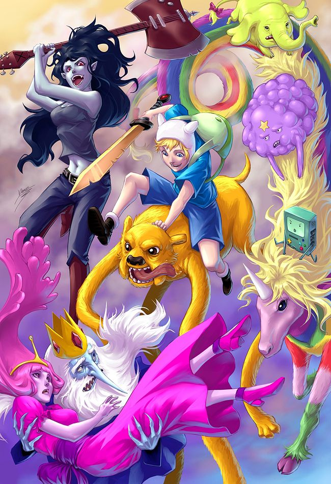 Realistic Adventure Time art ranges from supercute to soul-crushing