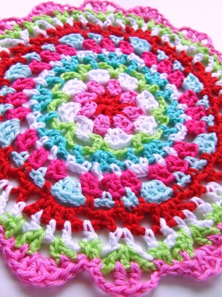 78 best Haken pannenlappen images on Pinterest   Crochet potholders ...