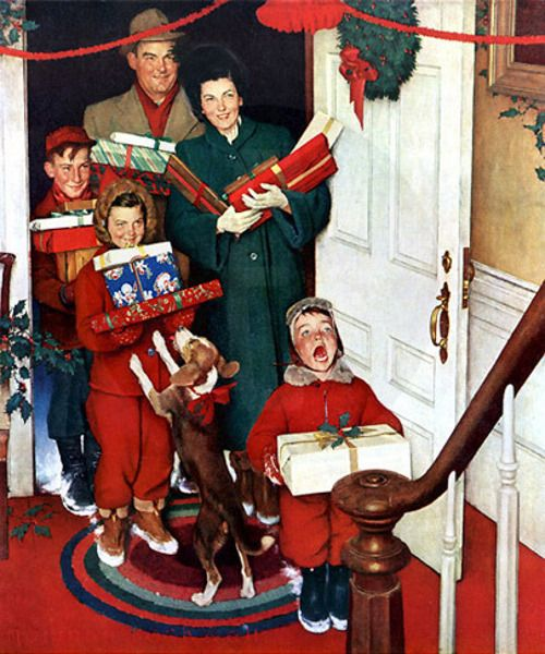 93 Best Images About Christmas Story On Pinterest: 93 Best Images About Norman Rockwell On Pinterest