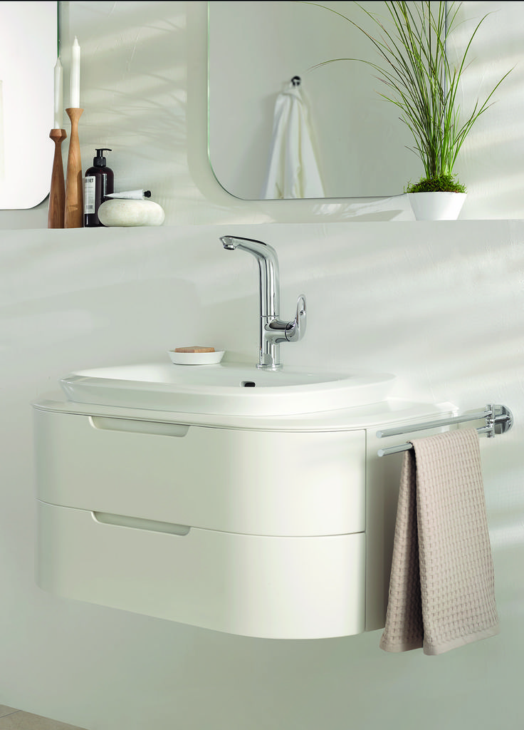 Wellbeing comes from ergonomic design with technology you can trust. GROHE's Eurostyle bathroom collection features everything you need to create a healthy bathroom in tune with nature #basin #mixer #faucet http://www.grohe.co.uk/en_gb/bathroom-collection/mixer-taps-eurostyle-cosmopolitan.html
