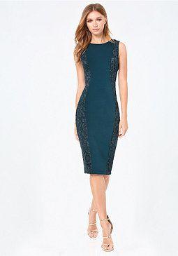 bebe Petite Curve Lace Dress #4 #bebe #pinyourwishlist