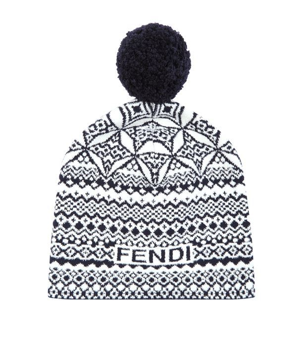 Fendi Knitted Heritage Beanie Hat available to buy at Harrods.Shop for her online and earn Rewards points.