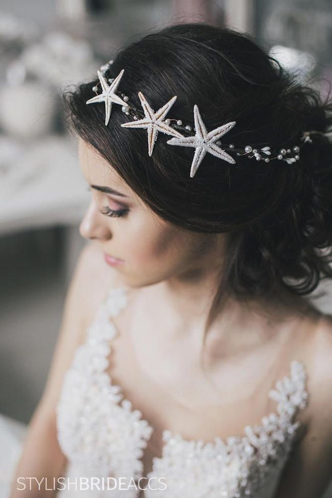 20 Elegant Beach Wedding Accessories Headband HairBeach
