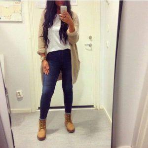466ebf778718da Timberland Boots Outfit Ideas  Timberland  Outfits  Fashion  streetstyle