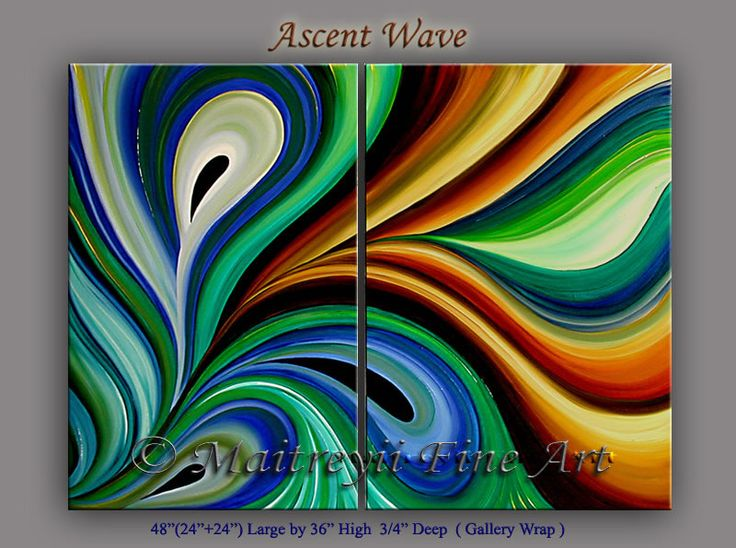 Google image result for for Abstract art mural