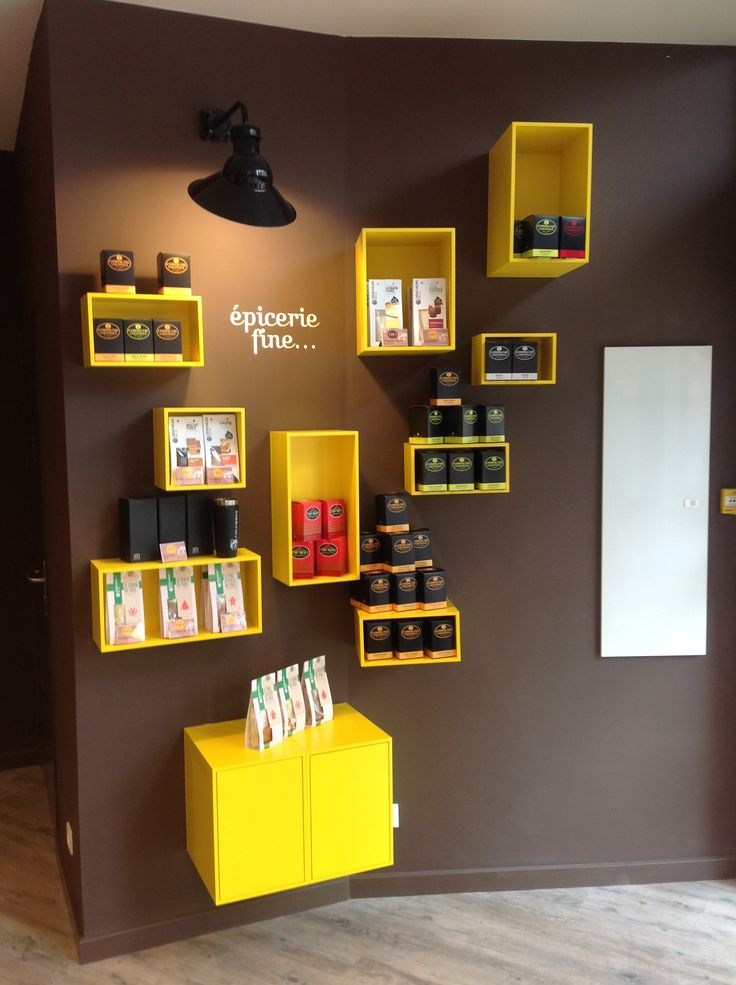 Great cubit design shelf at columbus cafe montpellier for Meuble columbus