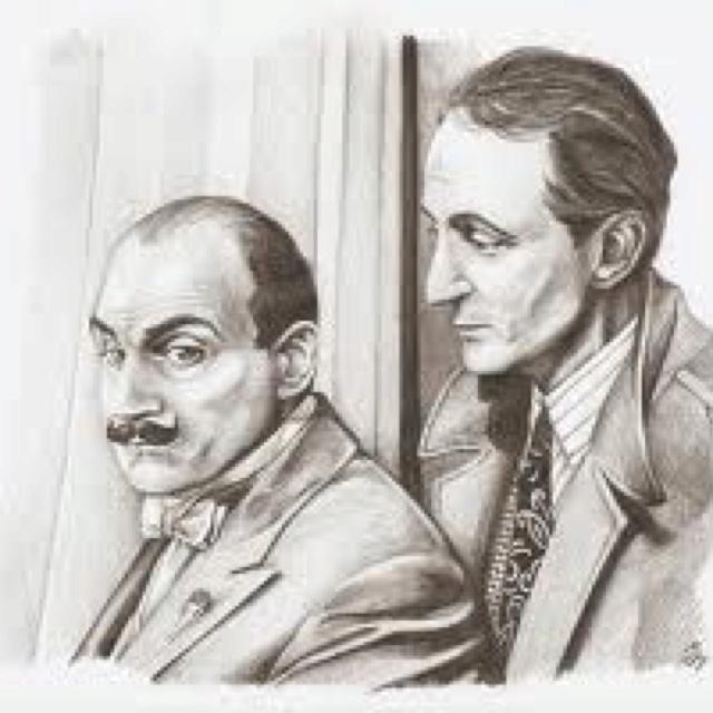 The immortal Hercule Poirot and Capt Hastings