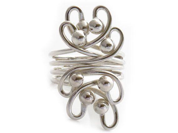Sterling Silver Rings for women  Wondering  by Sterlingsilverrings, $78.00
