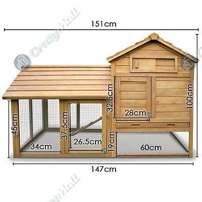 Interior/exterior de 2 plantas choza conejillo de Indias Mascotas suministros C / Base Gabinete