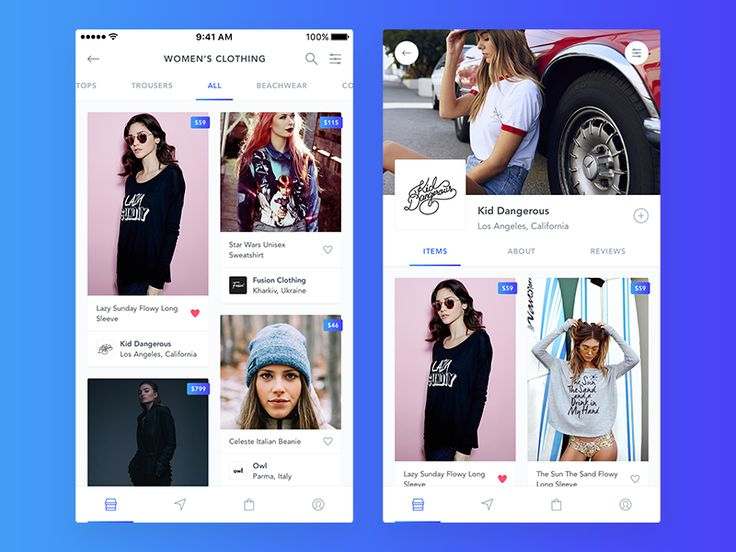 New shopping app - Storefront by Cai Cardenas