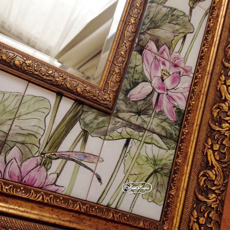 """Больше фото про зеркало """"Болото"""" - Ярмарка Мастеров - ручная работа, handmade"""