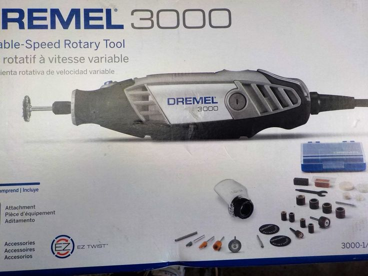 Rotary Tools 177003: Rotary Tool Dremel 3000-1 25H Corded Polishing Variable Speed 28 Peice Kit -> BUY IT NOW ONLY: $55 on eBay!