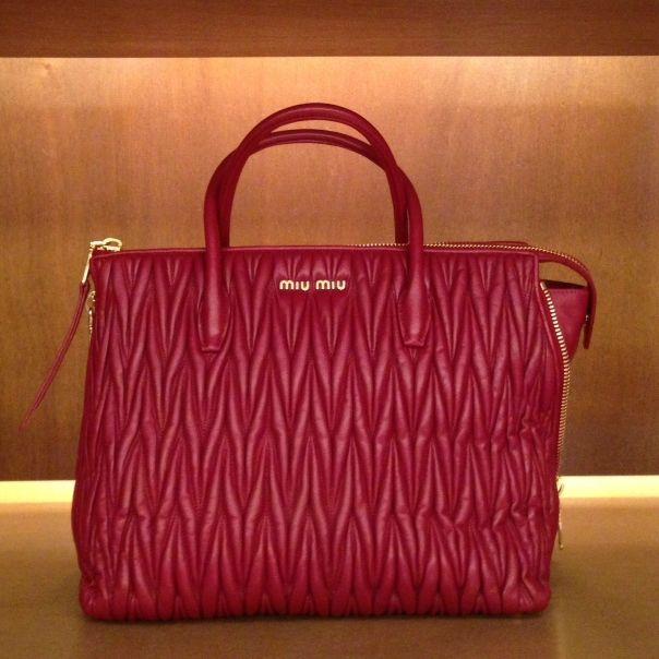 Miu Miu #bag #matelasse #FolliFollie #collection