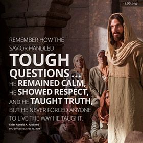 Official website of The Church of Jesus Christ of Latter-day Saints (Mormons). Find messages of Christ to uplift your soul and invite the Spirit.