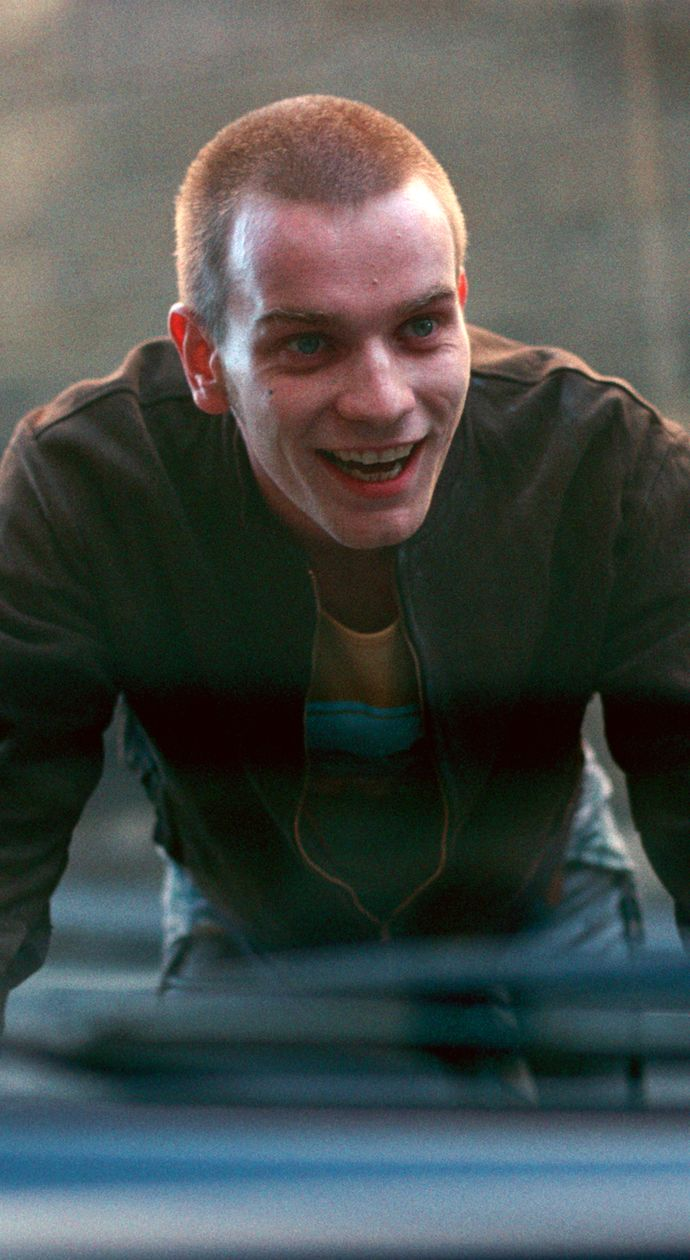 Ewan McGregor as Renton in  Trainspotting. T2 will be released on 27th January 2017.