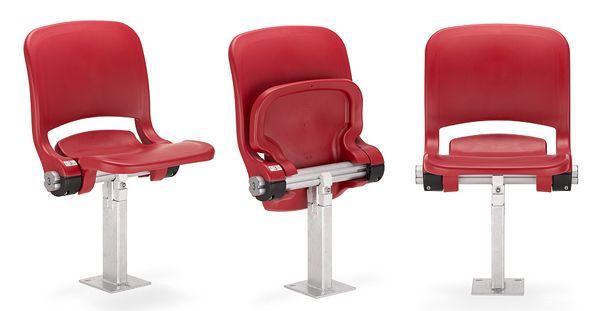 Scaune cu șezut rabatabil, scaune stadion și sala de sport .