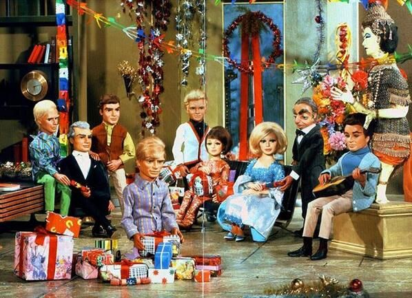 Seasons Greetings from the British cast of Gerry and Sylvia Anderson's Thunderbirds are Go (1966)