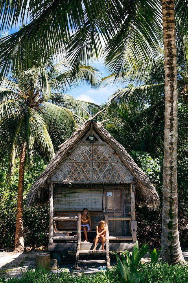 In an island daze...