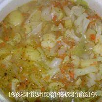 Постные супы, рецепты овощные Овощной суп с пекинской капустой и болгарским перцем Русский борщ на овощном бульоне Суп из картофеля и брюссельской капусты Первое блюдо из чечевицы с оливками Русское блюдо - грибные щи