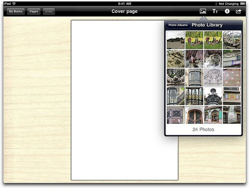 Blog about Book Creator, fixed layout ePub