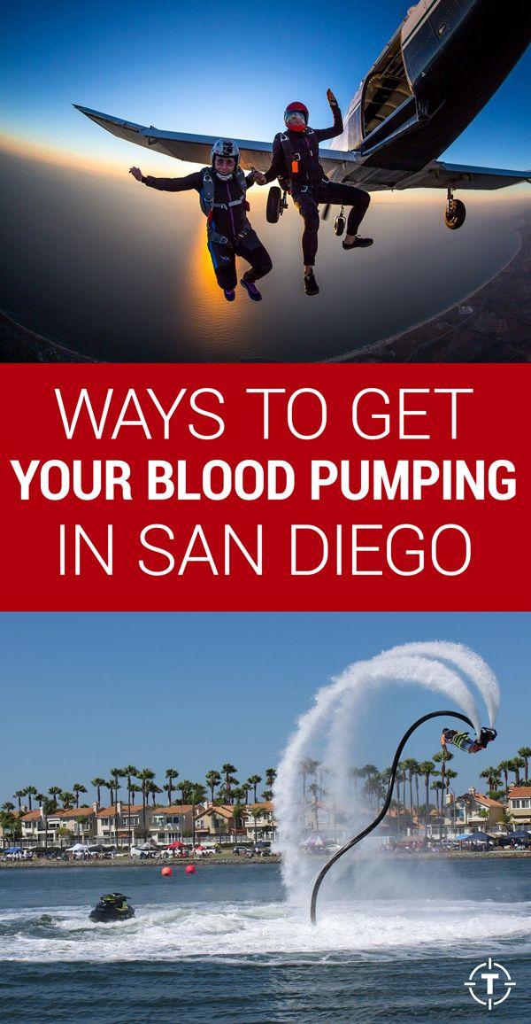 ways to get your blood pumping in san diego sans surfboard activities