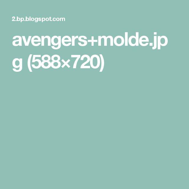 avengers+molde.jpg (588×720)