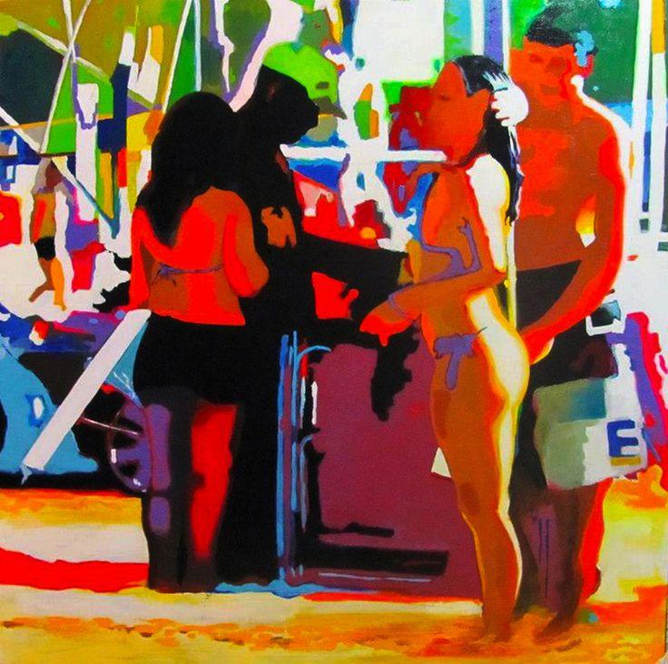 Ipanema. #art #artists #canvas #pencil