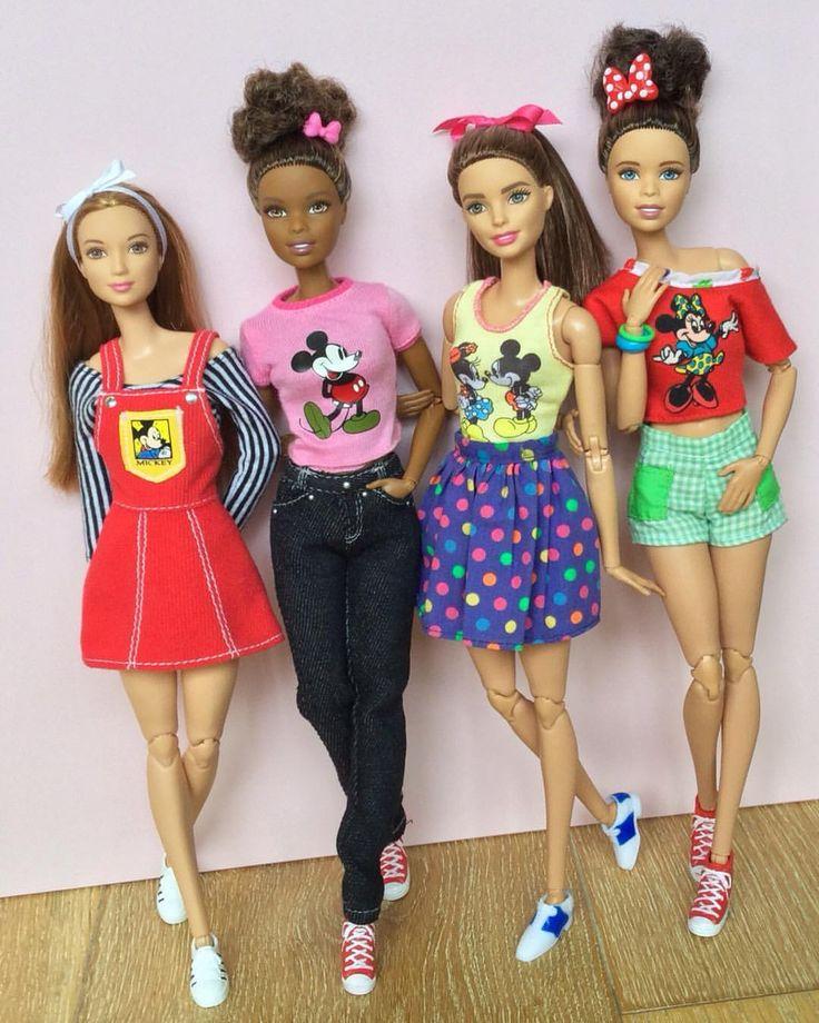 342 отметок «Нравится», 5 комментариев — Emily Polak (@emilypm3) в Instagram: «Disney & Barbie, two of my favourite things! ❤️ #barbie #barbiedoll #barbiecollector #barbiestyle…»