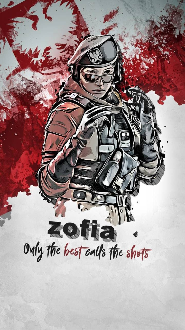 Download Zofia Wallpaper By Trax1m Da Free On Zedge Now Browse Millions Of Popular Rainbow Rainbow Six Siege Art Rainbow Art Rainbow Wallpaper