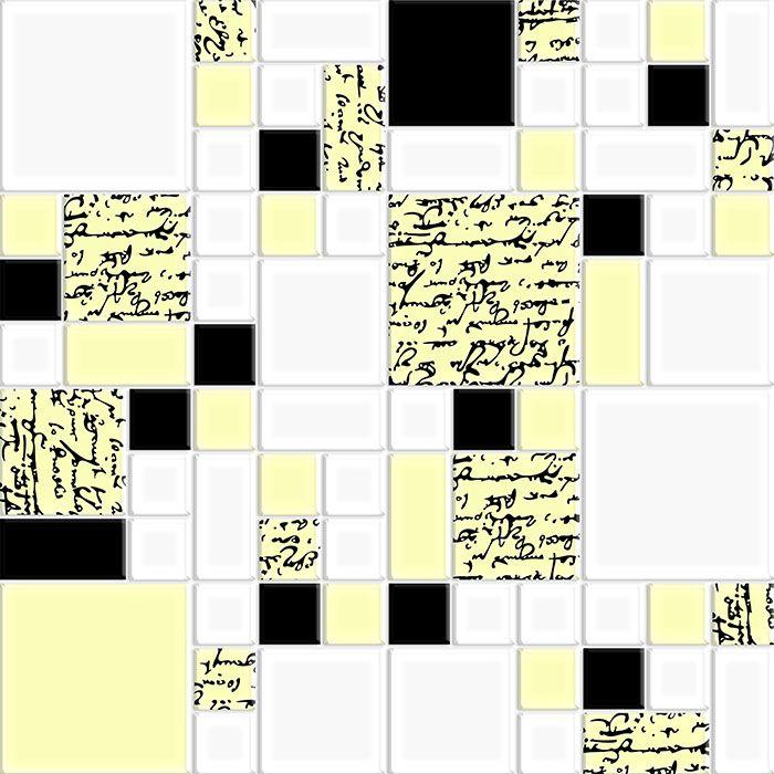 Multiformato A Manuscrito - Preto e Vanilla