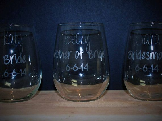Listing for FIVE 17 oz Stemless Wine Glasses. Other quantities available. These 17 oz. Stemless wine glasses feature a simplicity and