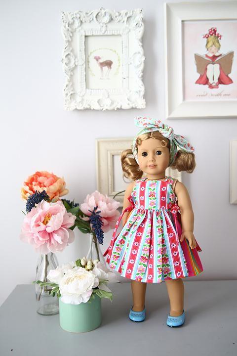 Joy Doll Dress & Top - Violette Field Threads   - 1